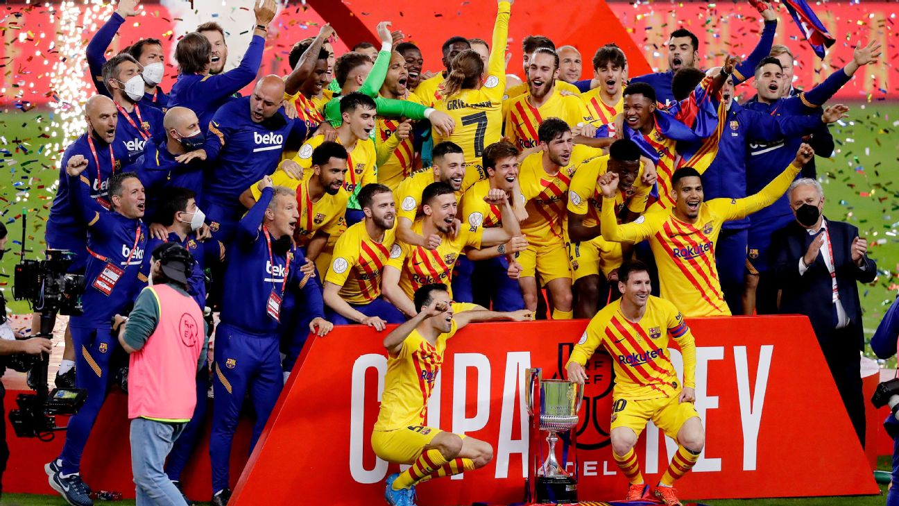 Lionel Messi Leads Barcelona to 4-0 Copa del Rey Victory