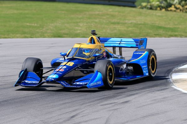 Palou scores IndyCar win; Johnson 19th in debut