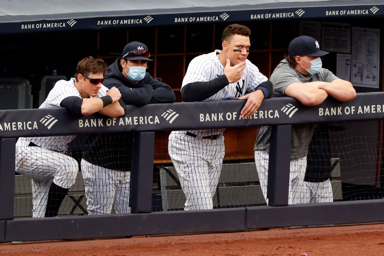 Last-place Yanks 'frustrated' after sweep by Rays