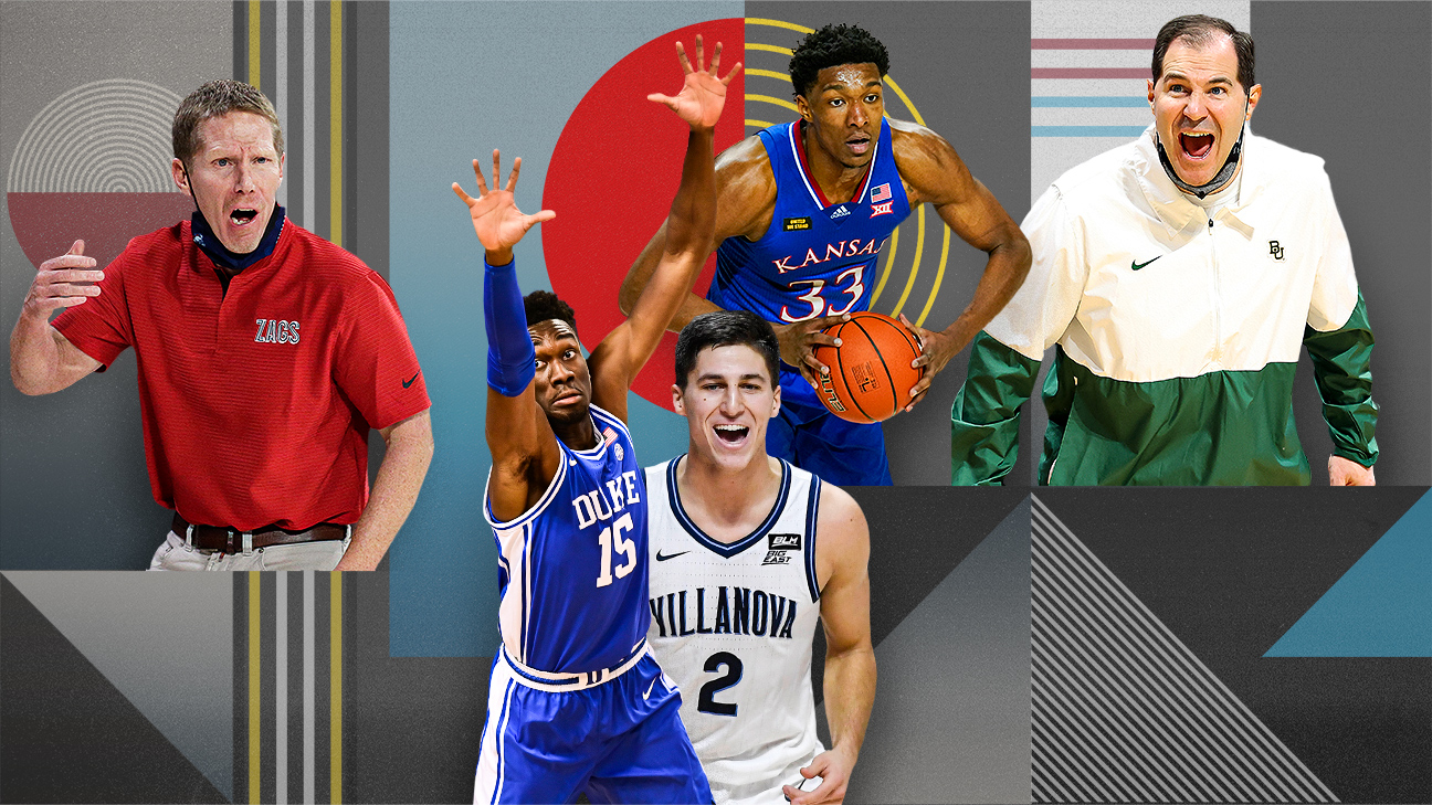 NCAA Bracketology -- Projecting the 2022 March Madness males's box