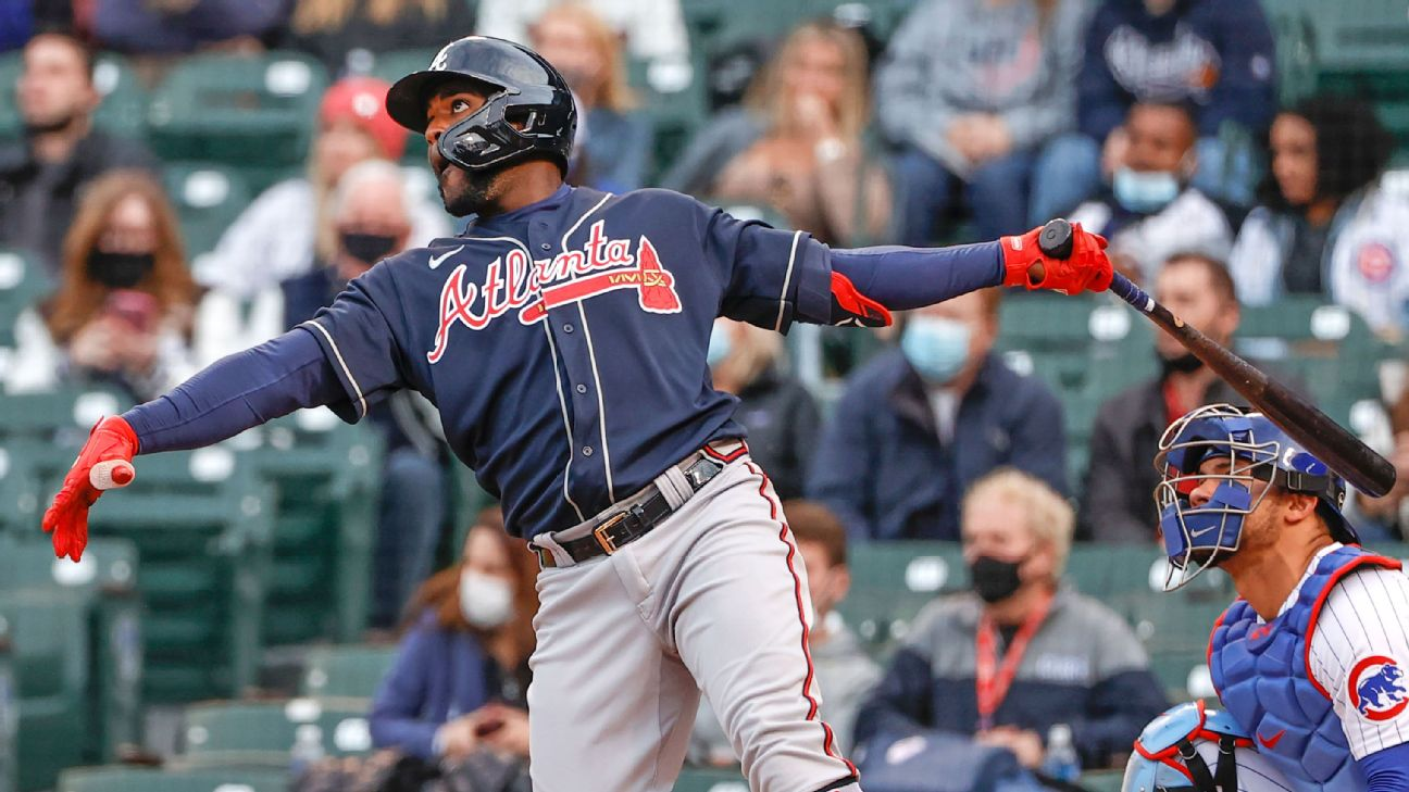 Braves star Acuna leaves victory in fourth inning