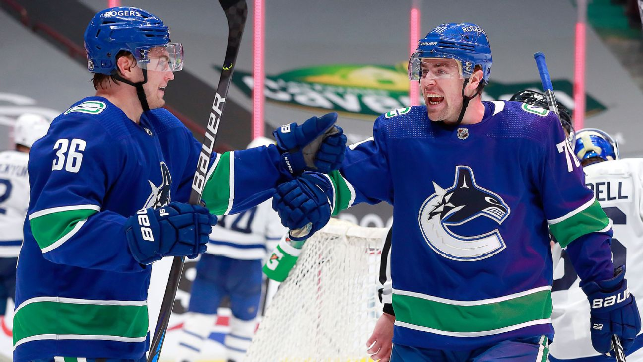 Horvat rallies Canucks to OT win in return game