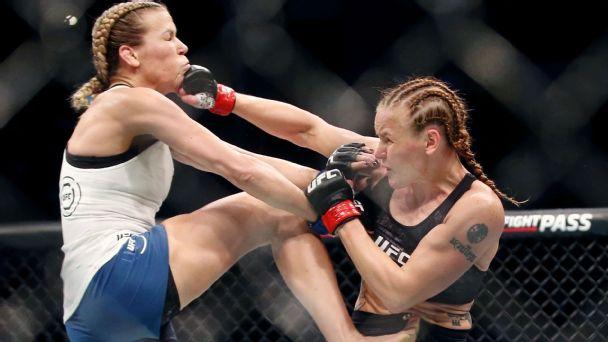 Shevchenko, Zhang, Namajunas and Andrade: UFC 261 a showcase of women's MMA