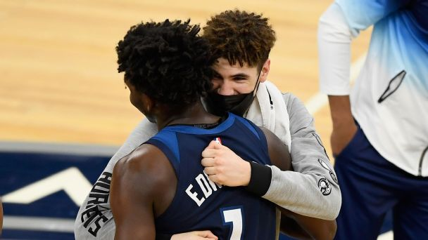 LaMelo Ball over Anthony Edwards for Rookie of the Year? The NBA had some thoughts