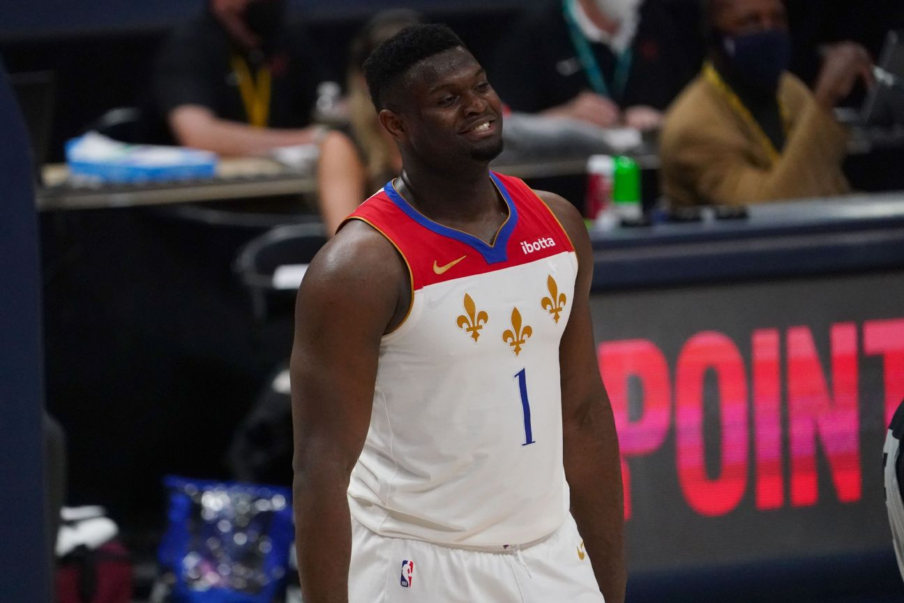 Pelicans' Griffin fined $50K for Zion comments