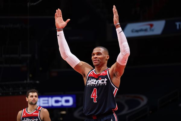 Russ repeats rare feat with 21 boards, 24 assists