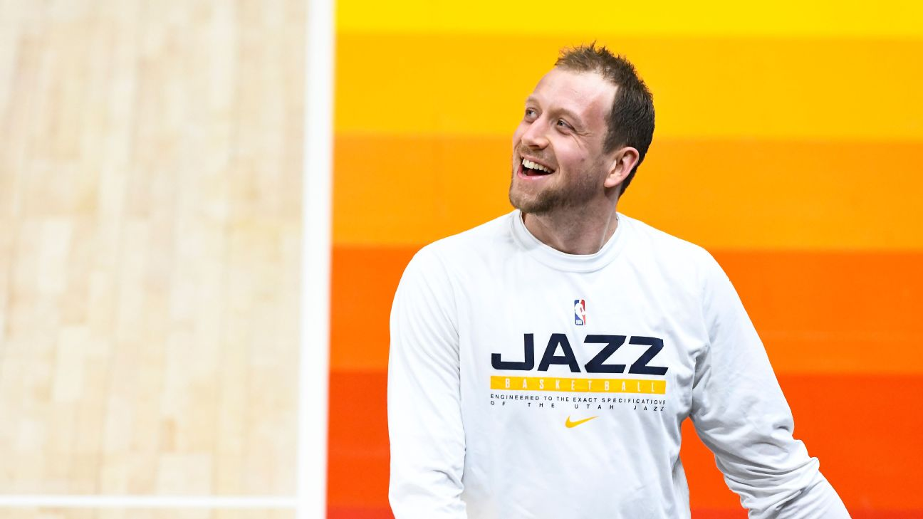 Utah's Joe Ingles leads the NBA in an advanced stat he had to Google