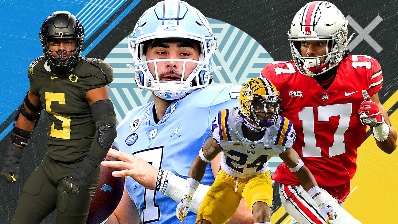 Early 2022 NFL mock draft: Five QBs on the radar