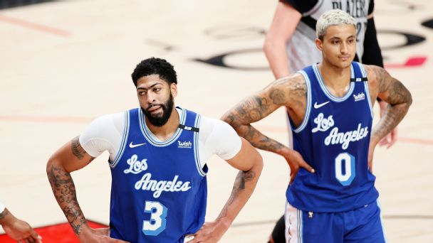 NBA playoff watch: Lakers, Celtics inch closer to play-in