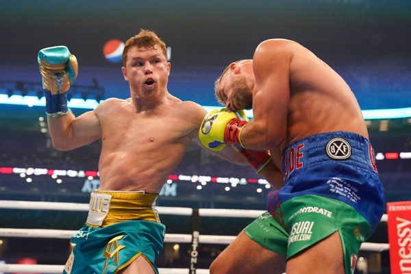Canelo TKO's Saunders in legacy-enhancing win
