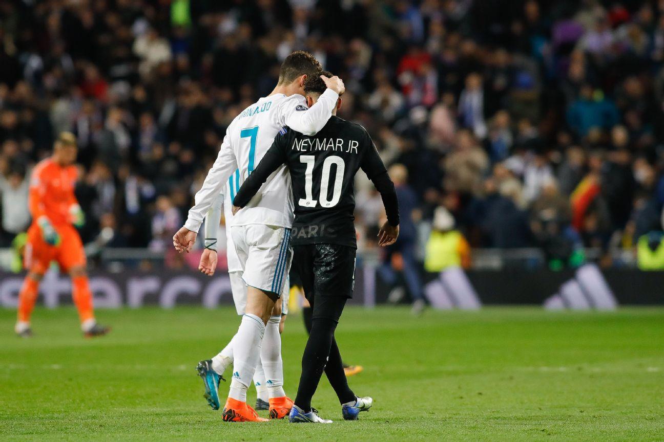 Neymar: I played with Messi, I want Ronaldo