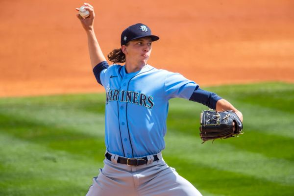 Sources: Mariners calling up touted RHP Gilbert