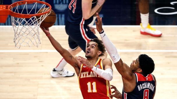 NBA playoff watch: Hawks wrap up berth; Lakers dodge disaster