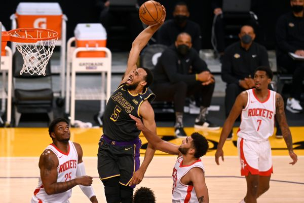 Lakers extend qualifying offer to Horton-Tucker