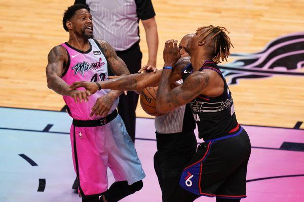 Heat's Haslem tossed 3 min. into season debut