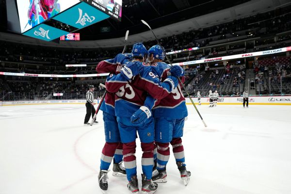Avalanche lock up No. 1 overall seed for playoffs