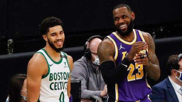 NBA insiders: What are the odds the Lakers and Celtics make it out of the play-in?