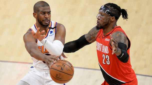 NBA playoff watch: Suns slow Blazers' roll; Spurs clinch play-in