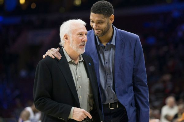 Pop skips game to attend Duncan's HOF induction