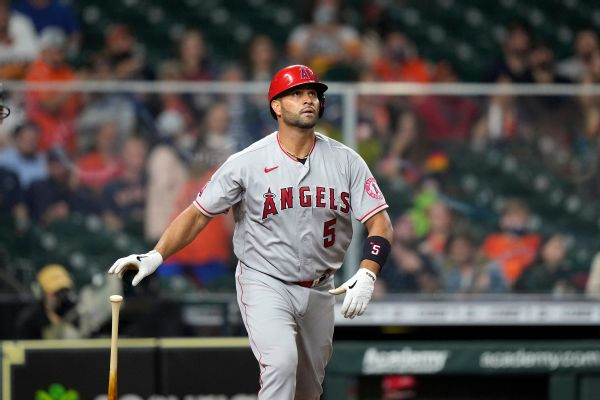 Sources: Pujols joining Dodgers after Angels exit