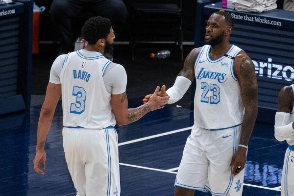 Lakers roll behind LeBron, 'unafraid' of any foe