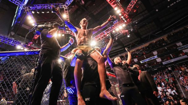 Charles Oliveira is the UFC champion we didn't see coming