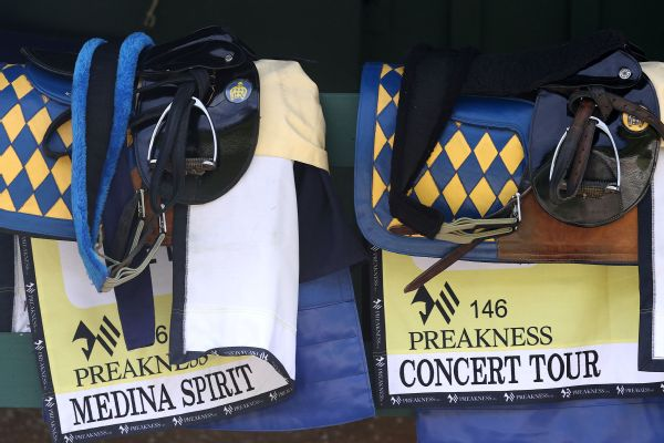 Baffert banned from entering horses at Belmont