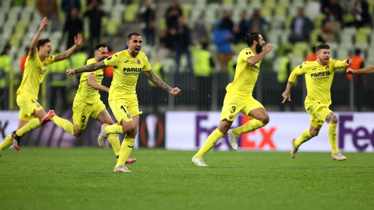 Villarreal outlast Man United in epic penalty shootout to win the Europa  League: How social media reacted