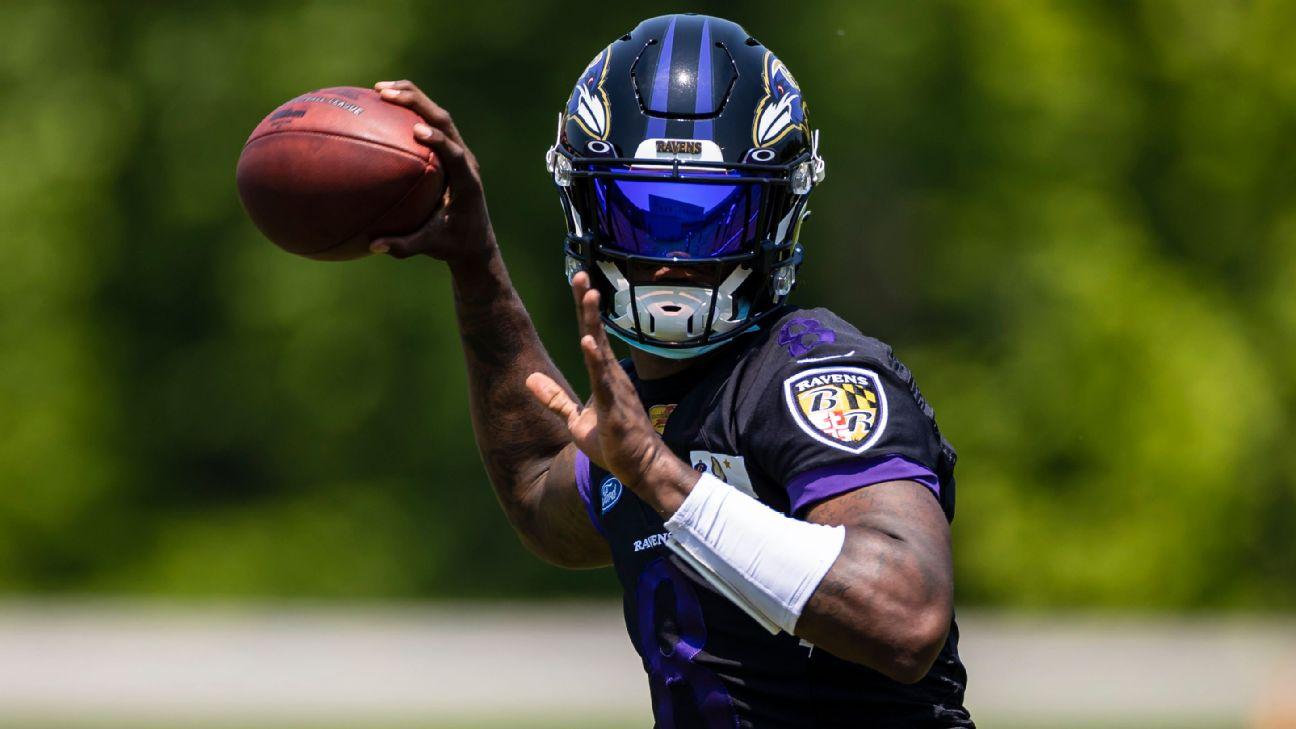 Ravens QB Jackson tests positive for COVID-19