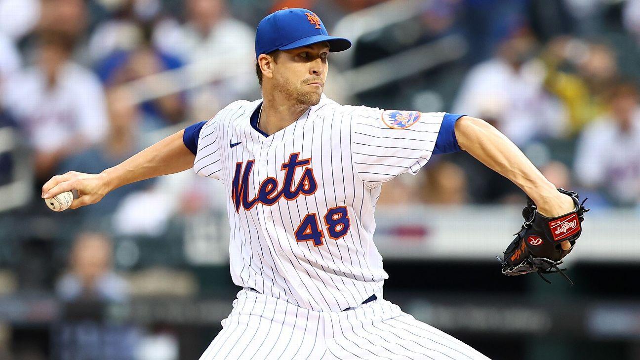 Siguiendo a Jacob deGrom: Dónde se ubica la temporada del as de los Mets  entre las mejores de la historia