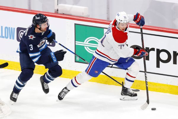 Evans traveling with Habs to Vegas for semi series