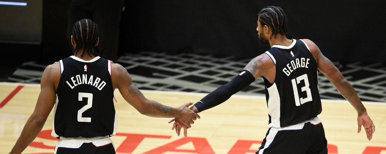 Follow live: Clippers look to even series vs. Jazz