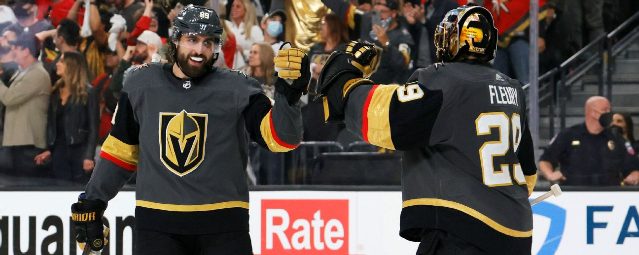 Follow live: Golden Knights open up Stanley Cup semifinal vs. Canadiens