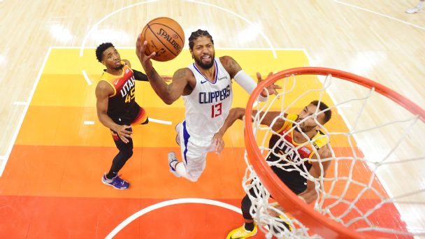 NBA Playoffs 2021: Without Kawhi Leonard, Paul George pledged to carry the LA Clippers through Game 5