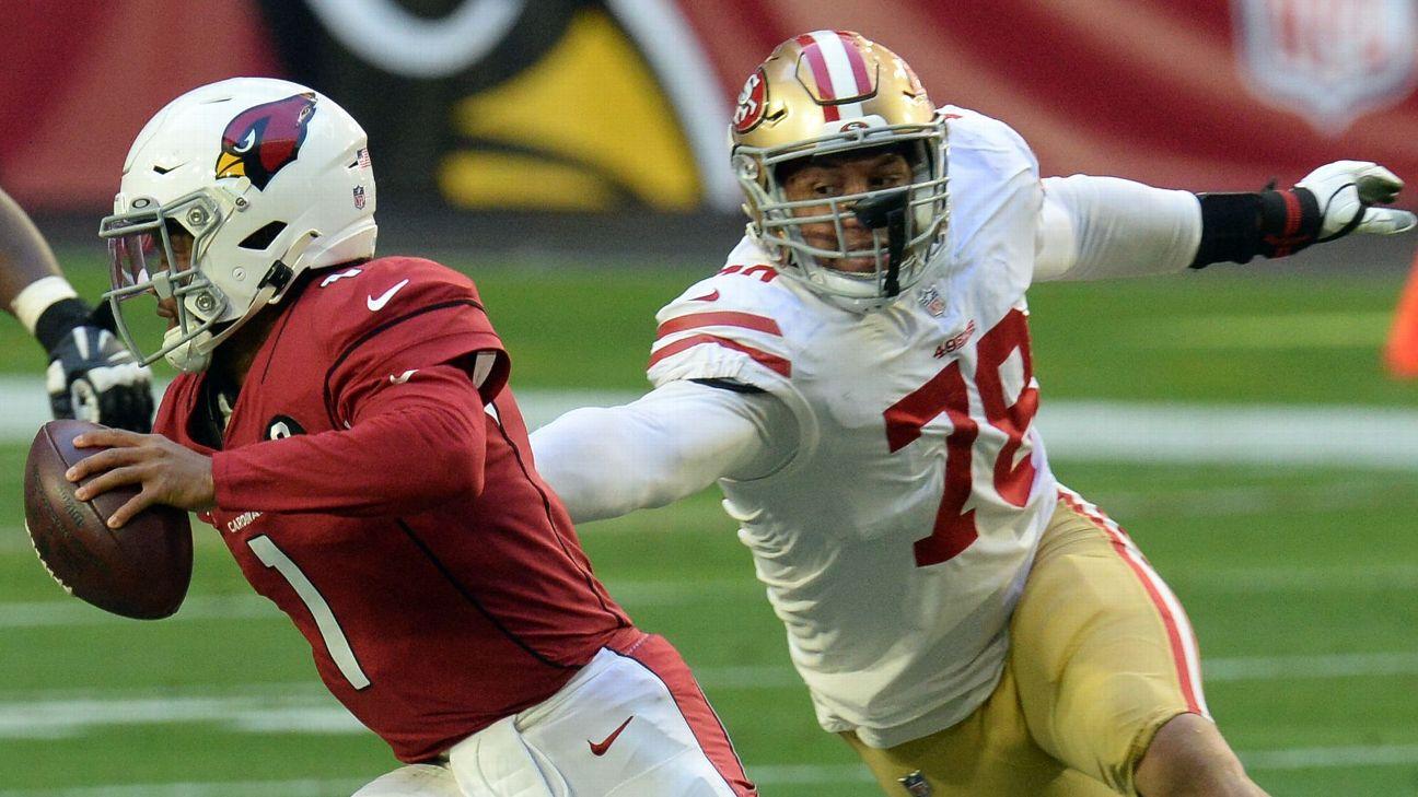 Backup San Francisco 49ers DE Jordan Willis suspended six games ...