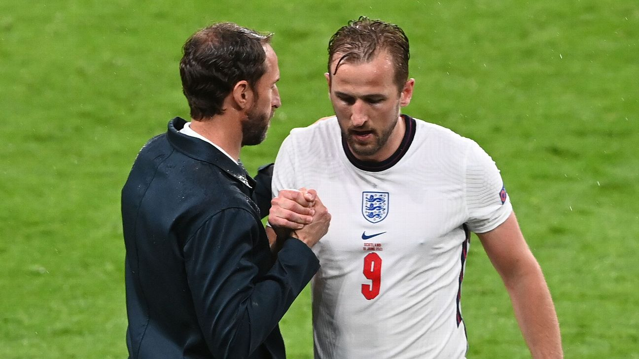 As England's attack sputters, pressure is on Southgate to find goals