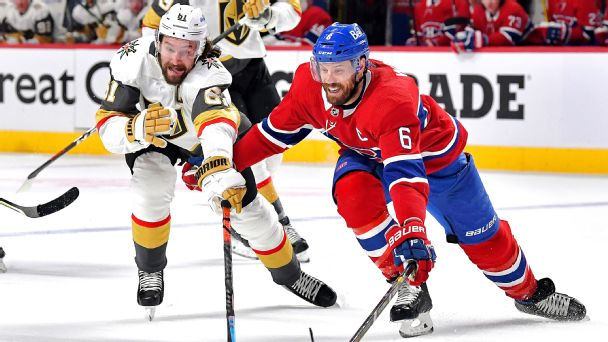 Follow live: Golden Knights look to even Western Conference semifinals