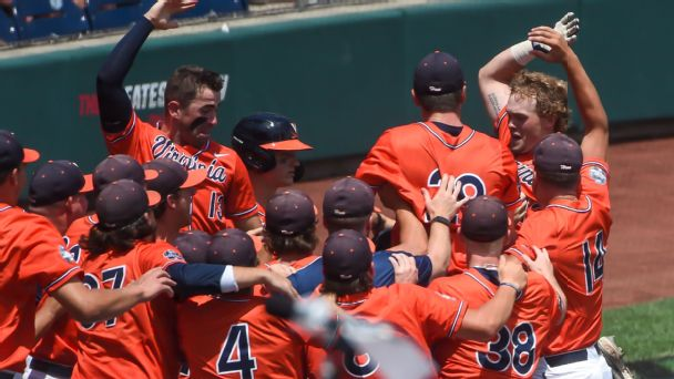 An unlikely home run and the perfect Father's Day gift at the College World Series