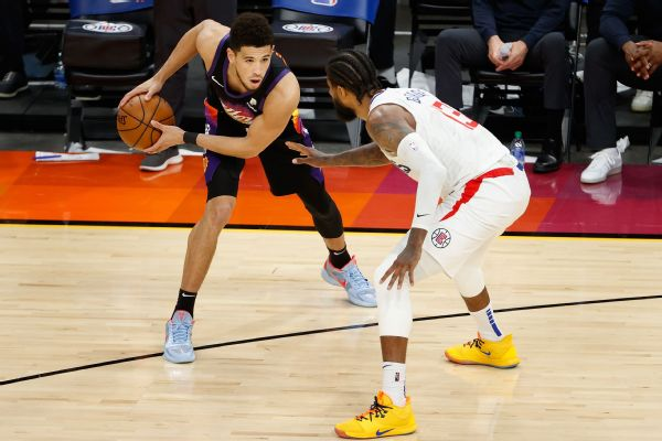 George: Booker, Suns present different challenge