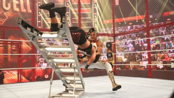 WWE Hell in a Cell results: Bobby Lashley and Bianca Belair retail