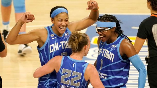 WNBA Power Rankings: Chicago Sky surging in Week 6