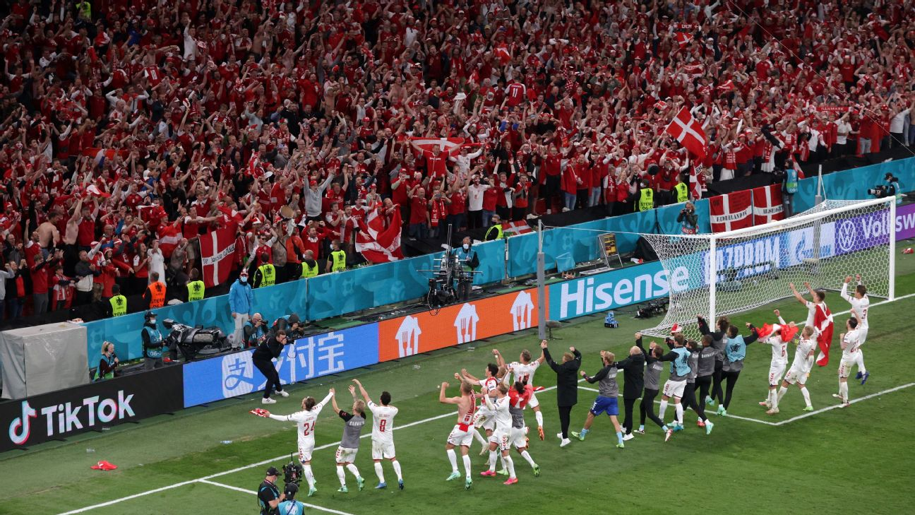 Denmark get second chance at Euro 2020 -- just like in 1992