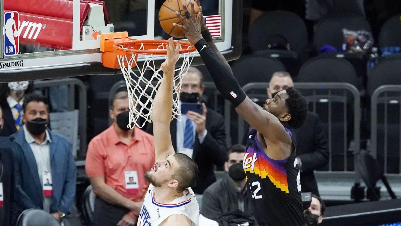 Suns share in glory of Ayton's winning alley-oop