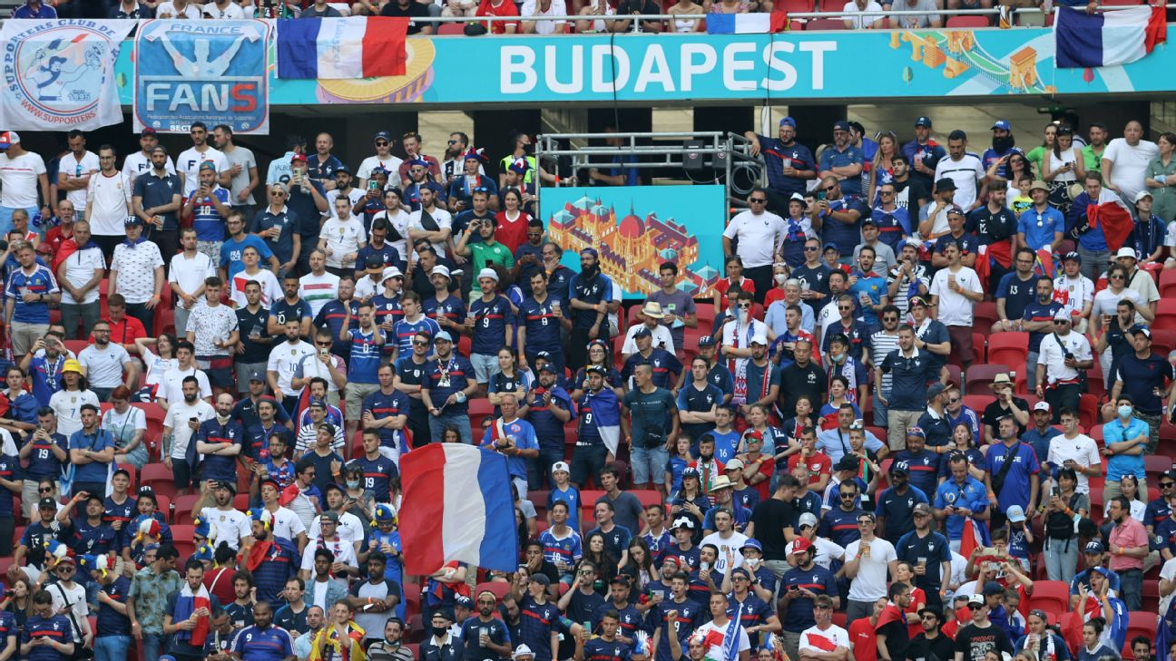 France fans miss Euro 2020 match vs. Hungary in Budapest by travelling to  Bucharest by mistake