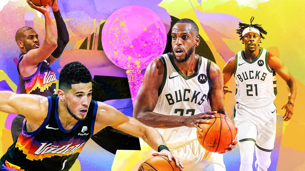 NBA Finals 2021 - Phoenix Suns vs. Milwaukee Bucks schedule, news,  highlights, analysis