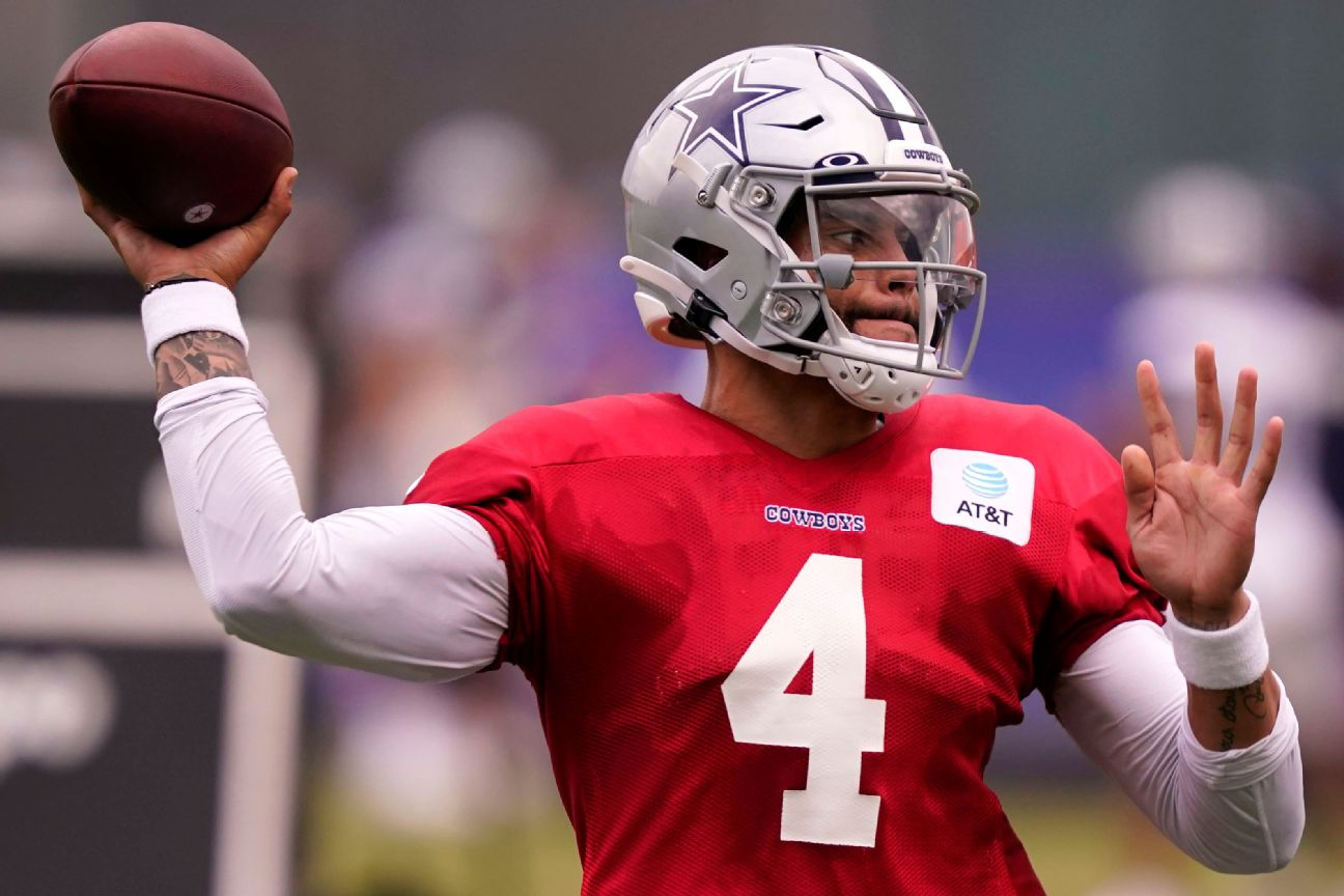 Dak practices fully, wants to play in preseason