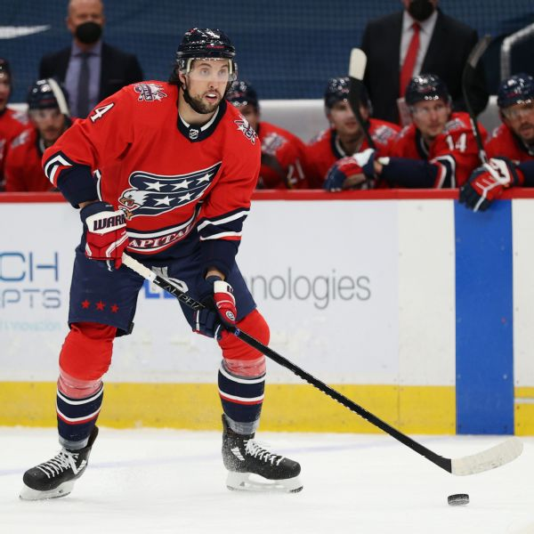Capitals ship Dillon to Jets for pair of draft picks