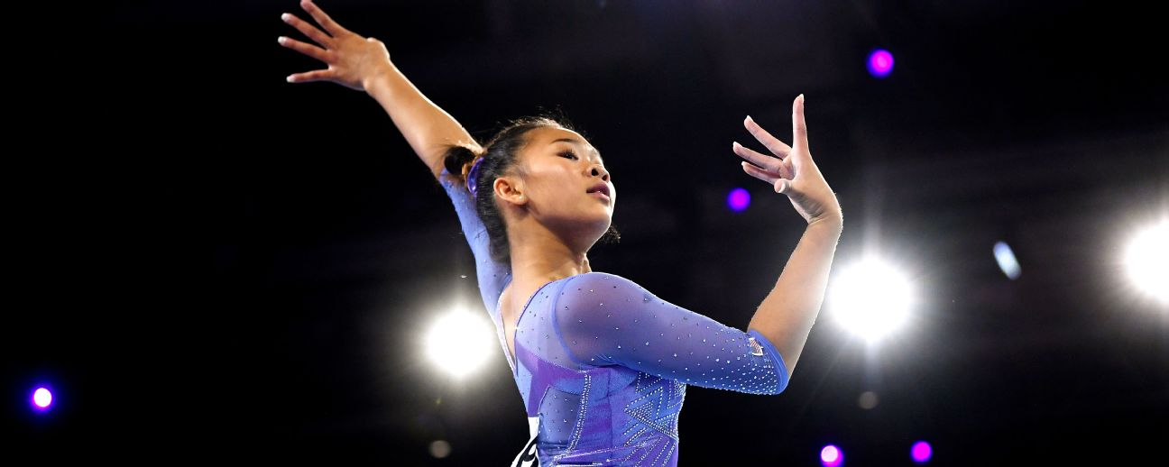 'A big moment for all of us': Star U.S. gymnast Sunisa Lee reps her family and community in Tokyo