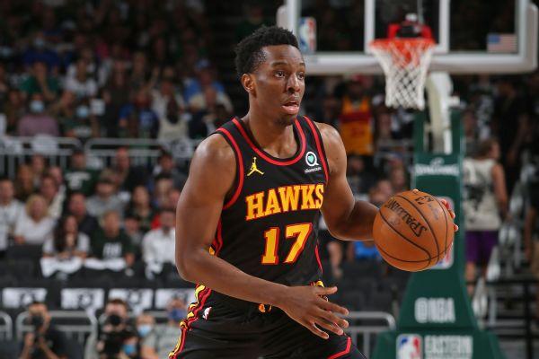 Hawks' Okongwu out 6 months after surgery