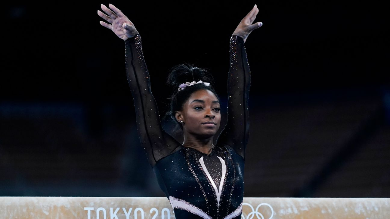 What it's like to coach Simone Biles, 'a once-in-a-lifetime talent'